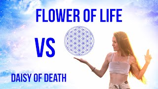 The Daisy Of DEATH Vs The Flower Of LIFE : Sacred Geometry Special