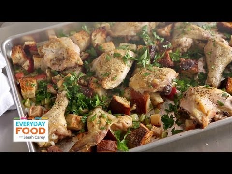 Inside-Out Chicken and Stuffing | Everyday Food with Sarah Carey
