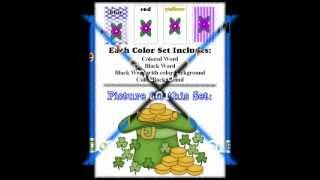 St Patricks Holiday Theme Supplement For Preschool, Kindergarten, School Classrooms And More