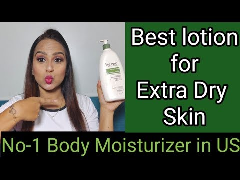 AVEENO Daily Moisturizing Lotion : Best Body Lotion For Extra Dry & Itchy  Skin / GLAM YOUR FACE