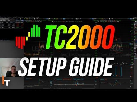 TC2000 Setup Tutorial