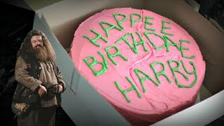 HAGRIDS BIRTHDAY CAKE From Harry Potter   FICTION FOOD FRIDAY