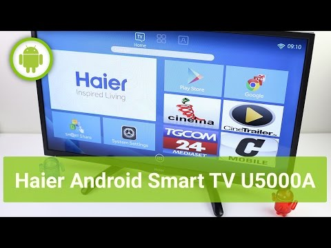 Haier smart TV Android U5000A, recensione in italiano