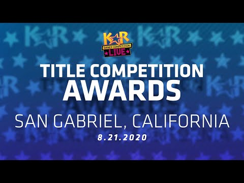 KARlive San Gabriel, CA - Title Awards 8.21.2020