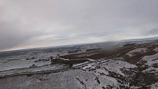 1st FPV flight of 2021 in blizzard