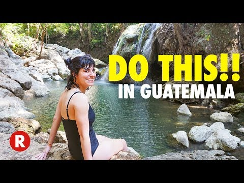 GUATEMALA TRAVEL GUIDE // TOP 5 THINGS TO DO // What to see, do, and eat in Guatemala