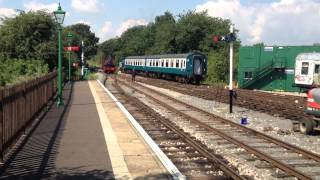 preview picture of video 'Epping Ongar Railway - Isabel Shunting at North Weld'