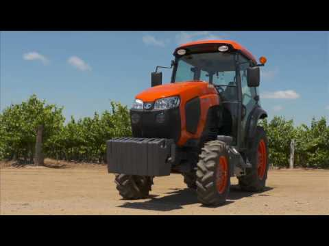 2019 Kubota M4N-071 Narrow 12-Speed Narrow ROPS in Beaver Dam, Wisconsin - Video 1