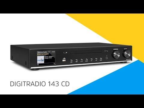 TechniSat Radio digitale 143 CD (Lettore CD, Sintonizzatore radio, Lettore audio di rete, Entry)
