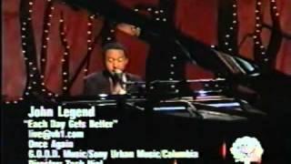 John Legend sings Each Day Gets Better.wmv