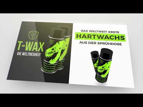 T-Wax - Das weltweit erste Hartwachs aus der Sprühdose