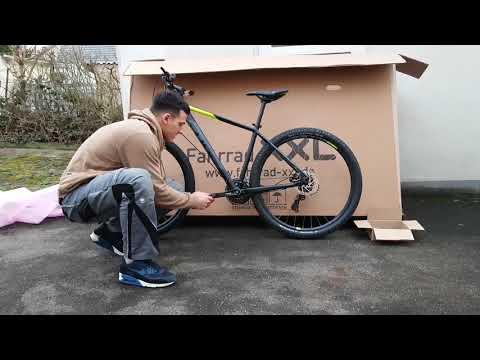 Fahrrad XXL Unboxing Cube Aim Pro - 2018 - 29 Zoll - Hardtail