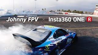 Insane FPV Drift Shots: Johnny FPV x Insta360 ONE R