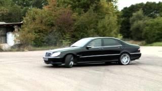 Mercedes S 55 AMG Drift