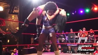 "[Free Match] Dominique Fabiano vs. MJ Jenkins - Women's Wrestling Revolution ""Project XX"""