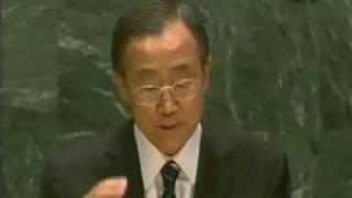 반기문 UN 사무총장직 수락 연설