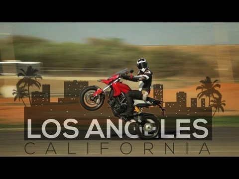 Los Angeles - Ducati Hyperstrada - MotoGeo Adventures