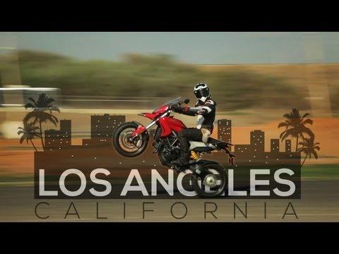 Los Angeles - Ducati Hyperstrada - MotoGeo Adventures