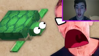 """They Hate Turtles!"" Reacting To Game Theory: The Tragedy Of Minecraft's Sunken Tomb"