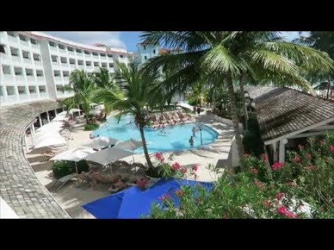 Sandals Barbados Club Level Beachfront cat. OBT. Room Tour.