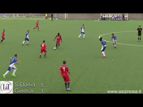 Preview video SPORTING DONIA-GINOSA 5-1 Inspiegabile tracollo del Ginosa nel secondo tempo