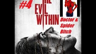 preview picture of video 'The Evil Within Walkthrough, Gameplay with Commentary Part 4, (1080p HD): Doctor & Spider Bitch'