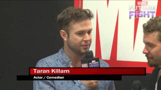 Hear Taran Killam's Stan Lee Impression on Marvel LIVE! at San Diego Comic-Con 2015