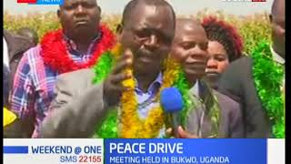 Governor Lonyangapuo leads Kenyan delegation to Uganda for a peace drive