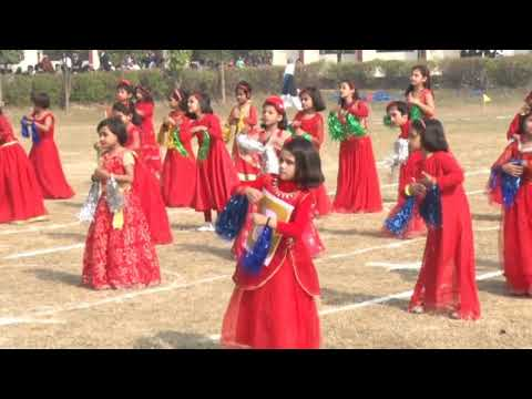 Iqra Public School Sports Day 2018-Kids Performing Welcome