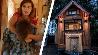 People Try Living In A Tiny House