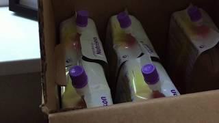 🗄️  Organising feeding tube supplies 🗄️ (11.8.2017)