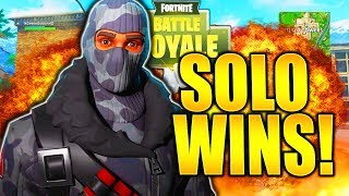 HOW TO GET MORE SOLO WINS IN FORTNITE TIPS AND TRICKS! HOW TO IMPROVE AT FORTNITE BATTLE ROYALE!