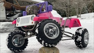 Ultimate Princess Jeep Build 4-Link Suspension and Steering Part 3
