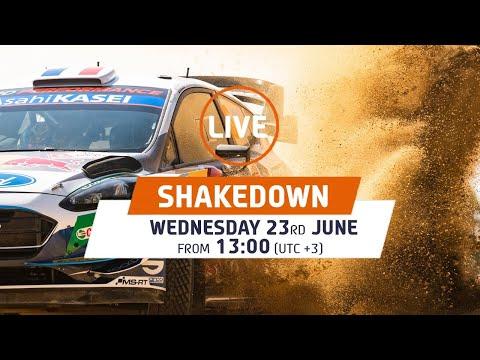 WRC 2021 WRC第6戦ラリー・ケニア シェイクダウンのライブ配信動画