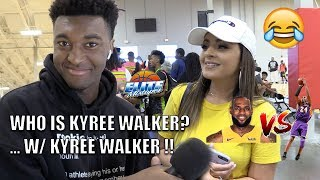 """Who is Kyree Walker?!"" with Kyree Walker! + Lebron vs Kobe!"