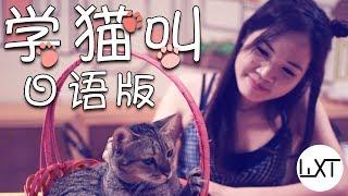 小潘潘、 小峰峰   学猫叫 日语版翻唱 【WXT 吴限TWO Cover】