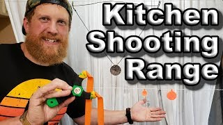 How To Build A Shooting Range In Your House For Slingshots (Slingshot How To Ep.3)