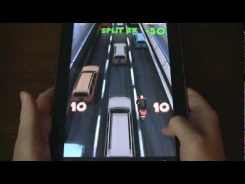 Video of Lane Splitter