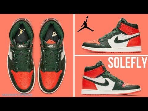 SoleFly x Air Jordan 1 High OG sneakers