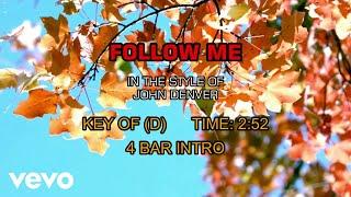 John Denver – Follow Me (Karaoke)