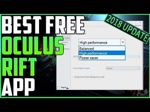 Oculus TrayTool - SuperSampling profiles, HMD disconnect fixes