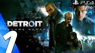 Detroit Become Human - Gameplay Walkthrough Part 1 - Prologue (Full Game) PS4 PRO