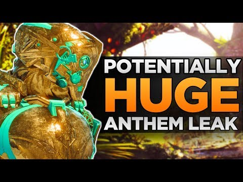 Possibly HUGE Anthem Leak | Plethora of Content Coming Soon?! | New Loot System, Next Javelin & More