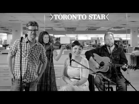 """Skydiggers – """"A Penny More"""" (live at Toronto Star)"""