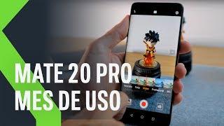 Huawei Mate 20 Pro, mes de uso