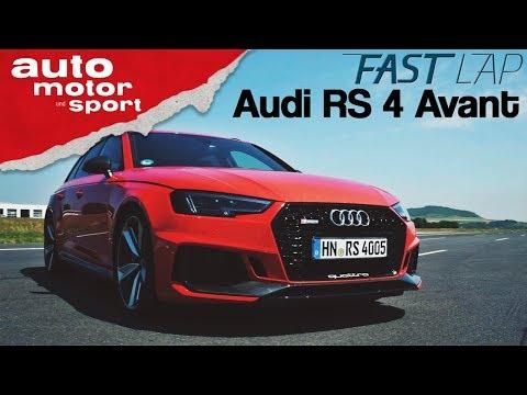Audi RS 4 Avant (2018): Für den Track oder für die Tonne? - Fast Lap | auto motor und sport