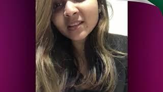 Student Testimonial - Ms. Mushiba