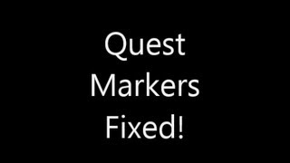 Creation Kit: Fixing the Quest Markers Bug