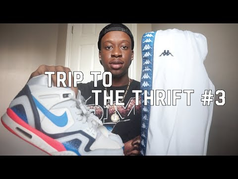TRIP TO THE THRIFT #3 – KAPPA & NIKE AGASSI COME UP AT THE THRIFT!