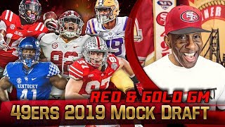 Live! 49ers Mock Draft 2019 - Ronbo Sports Red & Gold GM EP 11